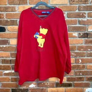 Vintage Winnie The Pooh Oversized Sweatshirt XL